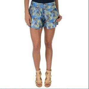 Sam Edelman 2 Piece Pleated Shorts & Open Back Top